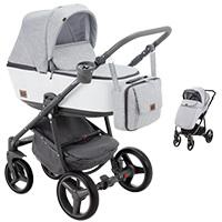 Wózek dziecięcy 2w1 ADAMEX REGGIO Premium