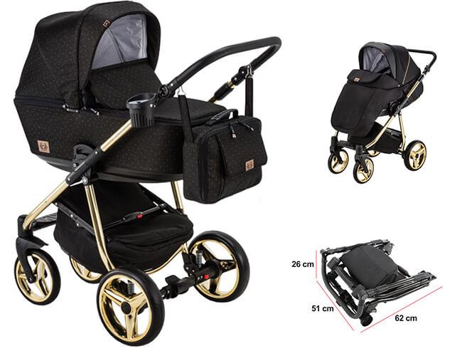 Wózek dziecięcy 2w1 ADAMEX REGGIO Special Edition 1