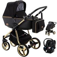 Wózek dziecięcy 3w1 ADAMEX REGGIO Special Edition + fotelik Cybex ATON 5