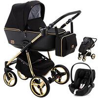 Wózek dziecięcy 3w1 ADAMEX REGGIO Special Edition + fotelik Cybex CLOUD Z I-SIZE
