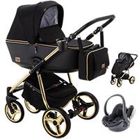 Wózek dziecięcy 3w1 ADAMEX REGGIO Special Edition + fotelik BeSafe iZi GO MODULAR I-SIZE