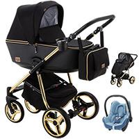 Wózek dziecięcy 2w1 ADAMEX REGGIO Special Edition + fotelik Maxi Cosi CABRIO FIX
