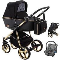 Wózek dziecięcy 3w1 ADAMEX REGGIO Special Edition + fotelik Maxi Cosi CITI
