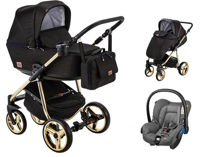 Wózek dziecięcy 3w1 ADAMEX REGGIO Special Edition 1