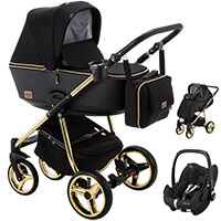 Wózek dziecięcy 3w1 ADAMEX REGGIO Special Edition + fotelik Maxi Cosi PEBBLE PRO
