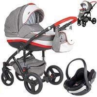 Wózek 3w1 ADAMEX VICCO + fotelik BeSafe iZi GO MODULAR I-Size
