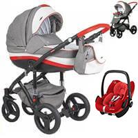 Wózek 3w1 ADAMEX VICCO + fotelik Maxi Cosi PEBBLE PRO