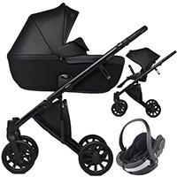 Wózek 3w1 ANEX e/type  + fotelik BeSafe iZi GO Modular I-Size
