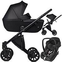 Wózek 3w1 Anex e/type + fotelik Maxi Cosi MARBLE