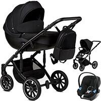 Wózek 3w1 ANEX m/type + fotelik samochodowy Cybex ATON B i-Size