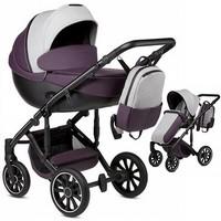 Wózek dziecięcy 2w1 ANEX m/type + torba LAVENDER