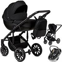 Wózek 3w1 ANEX m/type + fotelik Maxi Cosi CORAL