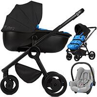 Wózek 3w1 ANEX QUANT + fotelik Maxi Cosi CABRIO FIX