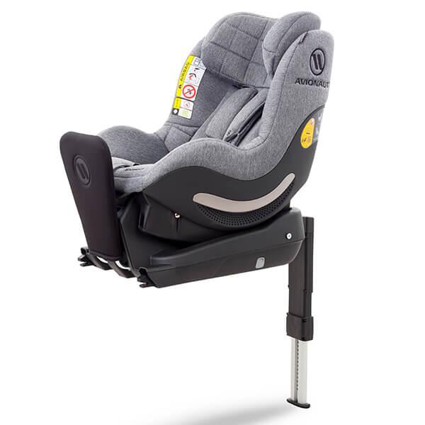 Fotelik samochodowy AVIONAUT AEROFIX dla dzieci 0-17,5kg i baza Isofix 5