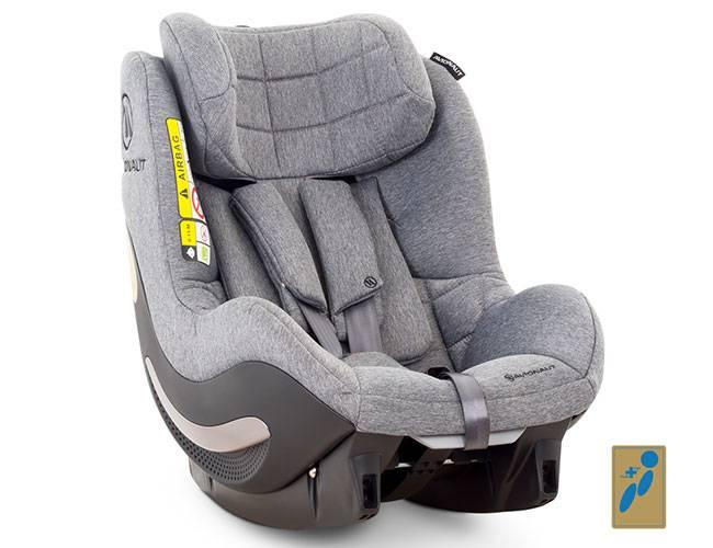 Fotelik samochodowy AVIONAUT AEROFIX dla dzieci -17,5kg i baza Isofix 1