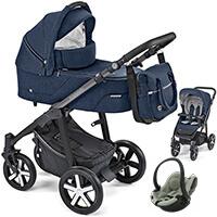 Wózek 3w1 BABY DESIGN HUSKY + BeSafe iZi GO MODULAR I-SIZE