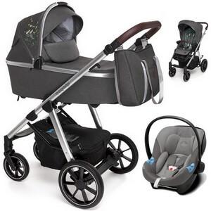 BABY DESIGN BUENO wózek 3w1 z fotelikiem CYBEX ATON M i-Size