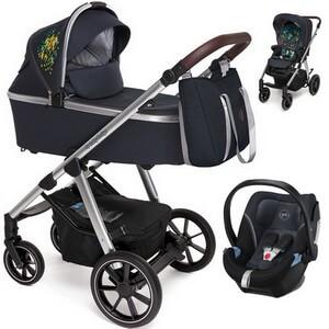 BABY DESIGN BUENO wózek 3w1 z fotelikiem CYBEX ATON 5