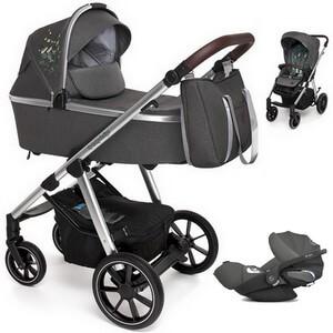 BABY DESIGN BUENO wózek 3w1 z fotelikiem CYBEX CLOUD Z i-Size