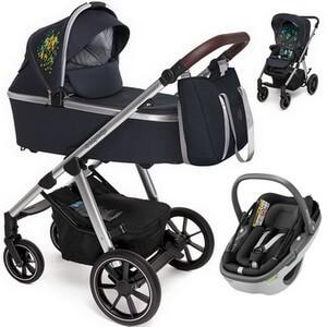 BABY DESIGN BUENO wózek 3w1 z fotelikiem MAXI COSI CORAL