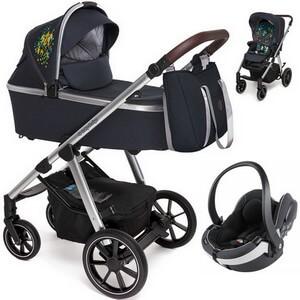 BABY DESIGN BUENO wózek 3w1 z fotelikiem BESAFE iZi GO MODULAR
