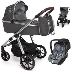 BABY DESIGN BUENO wózek 3w1 z fotelikiem MAXI COSI MARBLE