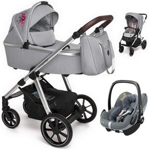 BABY DESIGN BUENO wózek 3w1 z fotelikiem MAXI COSI PEBBLE PRO