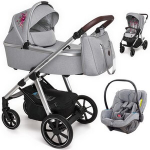 BABY DESIGN BUENO wózek 3w1 z fotelikiem AVIONAUT PIXEL