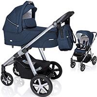 Wózek dziecięcy 2w1 BABY DESIGN HUSKY + torba pielęgnacyjna