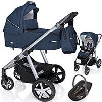 Wózek dziecięcy 3w1 BABY DESIGN HUSKY + fotelik Swandoo ALBERT LITE