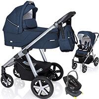 Wózek dziecięcy 3w1 BABY DESIGN HUSKY + fotelik Swandoo ALBERT