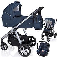 Wózek 3w1 BABY DESIGN HUSKY + fotelik Cybex ATON 5