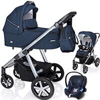 Wózek 3w1 BABY DESIGN HUSKY + fotelik Cybex ATON M
