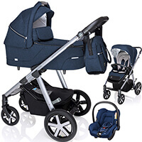 Wózek 3w1 BABY DESIGN HUSKY + fotelik Maxi Cosi CITI