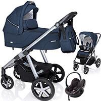 BABY DESIGN HUSKY wózek 3w1 z fotelikiem BESAFE iZi GO