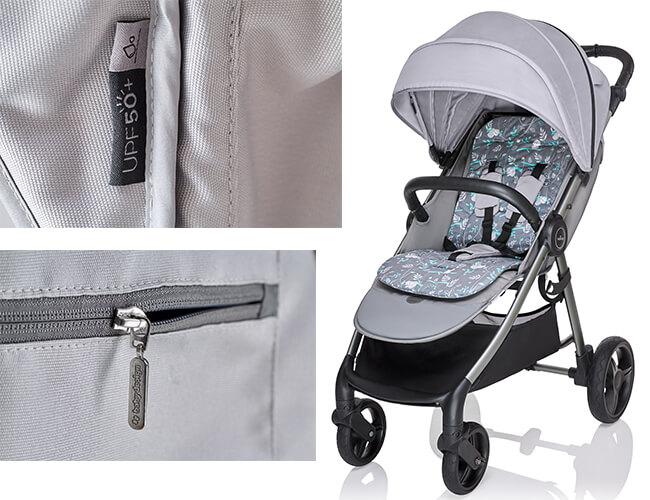 Wózek spacerowy Baby Design WAVE 1