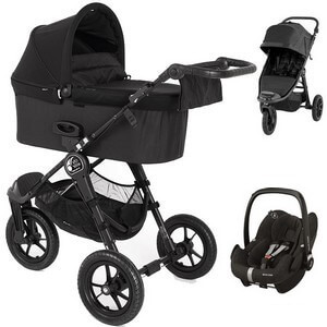 BABY JOGGER CITY ELITE 2 wózek 3w1 | fotelik MAXI COSI PEBBLE PRO