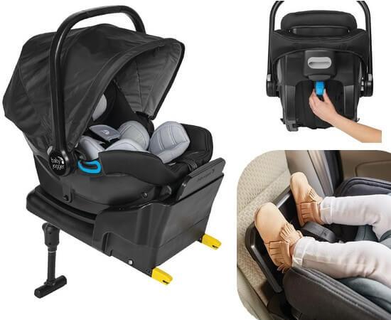 Fotelik samochodowy BABY JOGGER CITY GO I-SIZE + baza ISOFIX 1