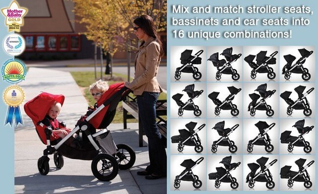 BABY JOGGER CITY SELECT DOUBLE 5