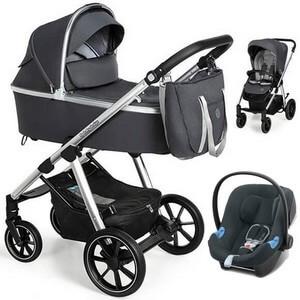 BABY DESIGN BUENO NEW wózek 3w1 | fotelik CYBEX ATON B i-Size
