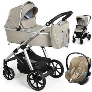 BABY DESIGN BUENO NEW wózek 3w1 | fotelik CYBEX ATON M i-Size