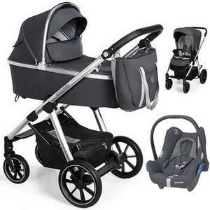 BABY DESIGN BUENO NEW wózek 3w1 | fotelik MAXI COSI CABRIO FIX