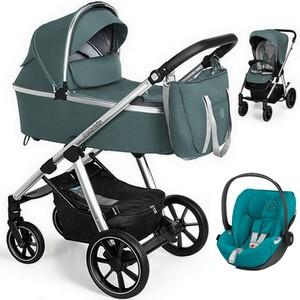 BABY DESIGN BUENO NEW wózek 3w1 | fotelik CYBEX CLOUD Z i-Size