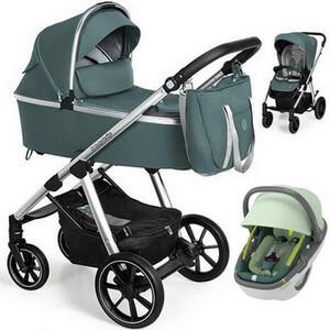 BABY DESIGN BUENO NEW wózek 3w1 z fotelikiem MAXI COSI CORAL