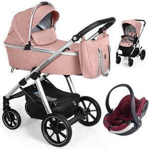 Wózek 3w1 Baby Design BUENO NEW + fotelik BeSafe iZi GO MODULAR i-Size