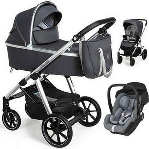 BABY DESIGN BUENO NEW wózek 3w1 z fotelikiem MAXI COSI MARBLE