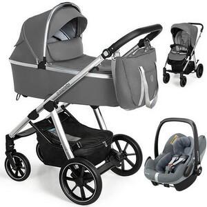 BABY DESIGN BUENO NEW wózek 3w1 | fotelik MAXI COSI PEBBLE PRO