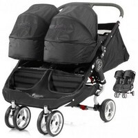Baby Jogger CITY MINI DOUBLE bli�niaczy w�zek g��boko-spacerowy
