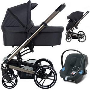 Wózek 3w1 BabySafe LUCKY + fotelik Swandoo ALBERT