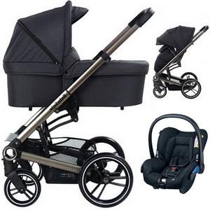 BABYSAFE LUCKY wózek 3w1 z fotelikiem MAXI COSI CITI